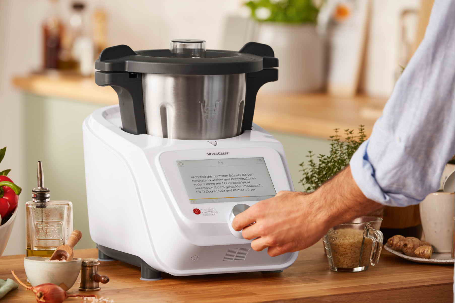 Que Robot De Cocina Comprar | Robot De Cocina Monsieur Cuisine Connect Lidl Tienda Online