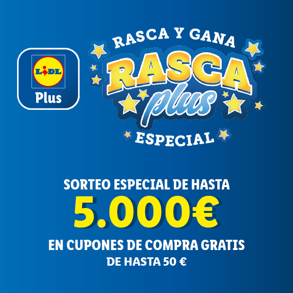 Lidl Plus ruleta