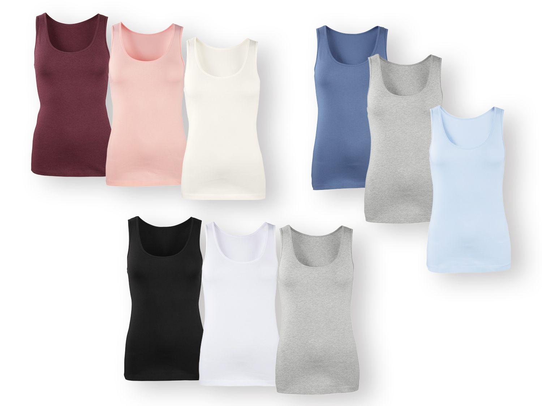 1ef28c9ddfdb Camiseta sin mangas mujer pack 3 | Lidl Tienda Online