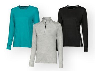 Camiseta deportiva manga larga mujer  e2d559d49ab5e