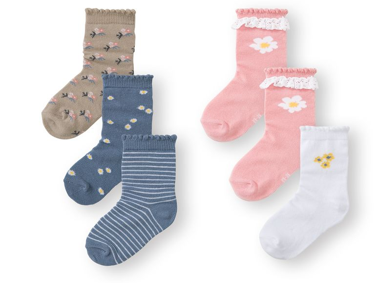 Calcetines infantiles pack 3 1