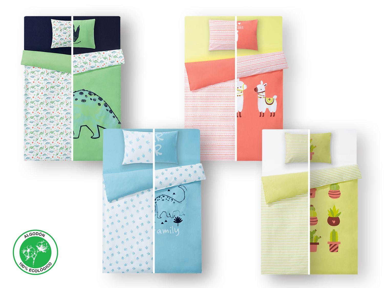 587bd31ec Ropa de cama bebé algodón ecológico | Lidl Tienda Online