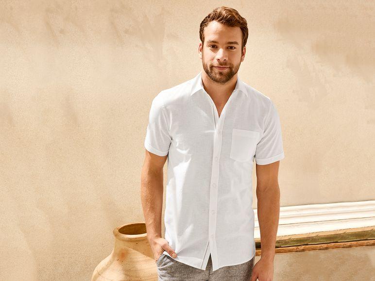 Online De Camisa Tienda Lino HombreLidl trshdQ