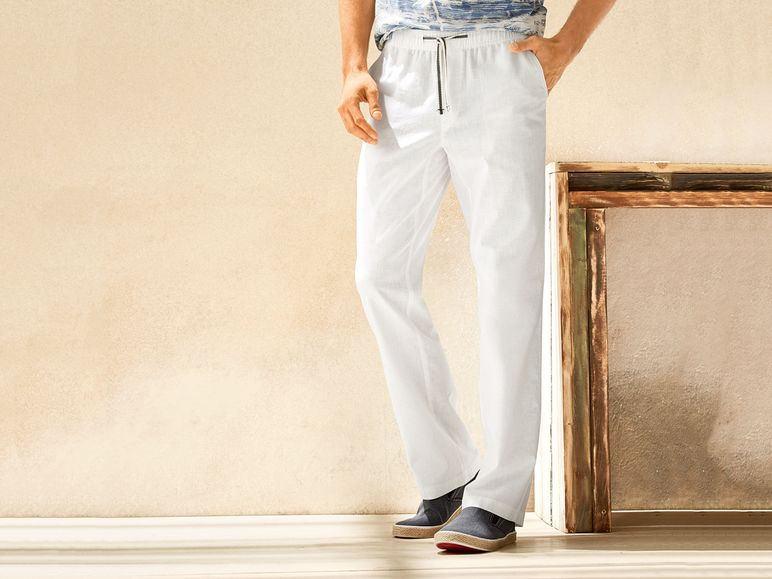 8fc486f76c Pantalón de lino hombre 1