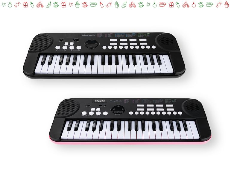 "Teclado musical ""Sheffield"" 1"