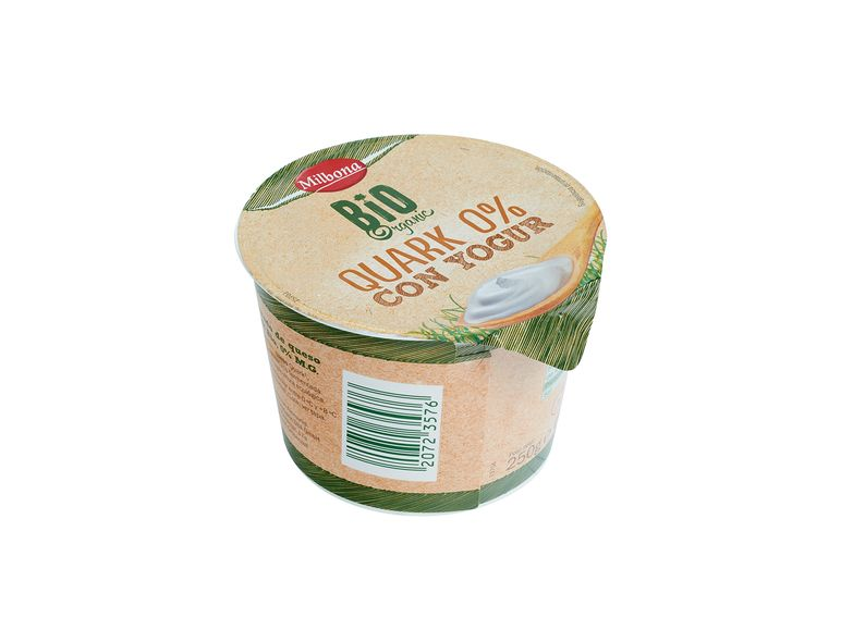 Quark 0% con yogur Bio 1