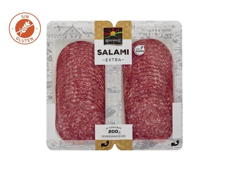 Lidl salami extra