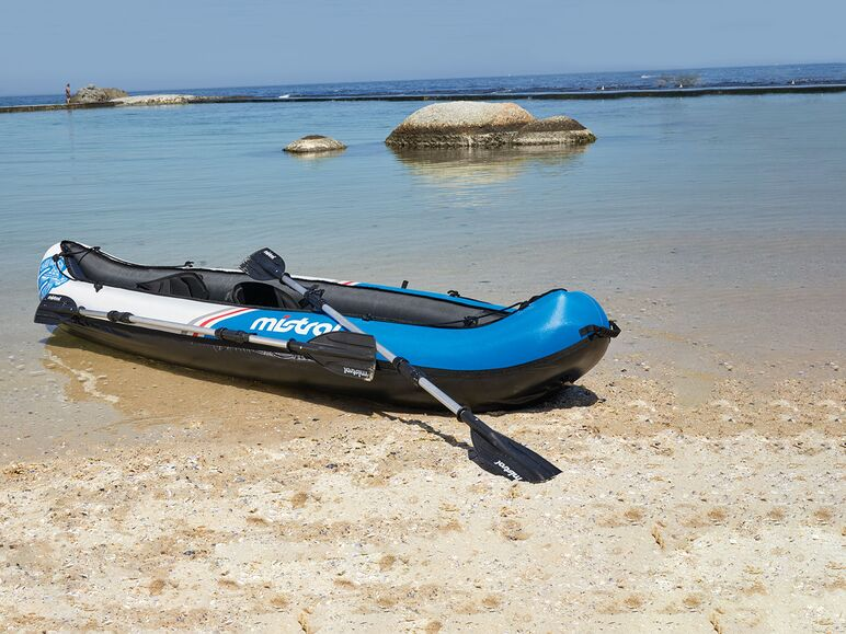 Mistral kayak con funda de nailon hinchable lidl