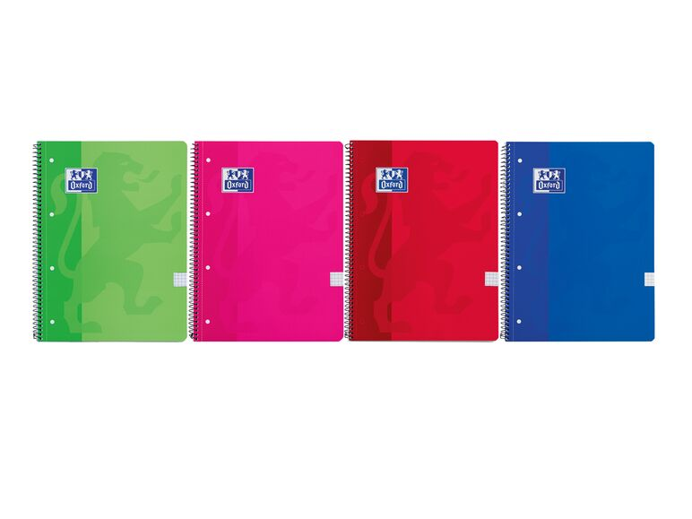 Cuadernos Oxford A4 pack 4 1