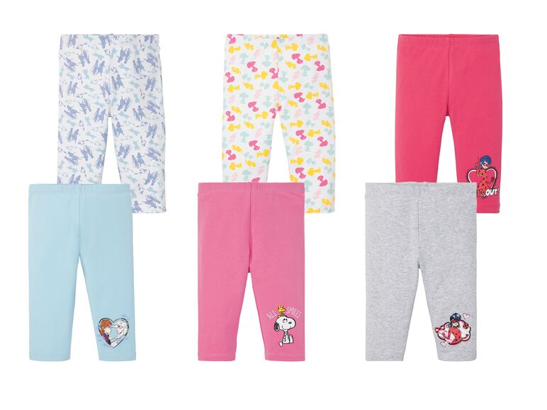 Leggings piratas infantiles pack 2 1