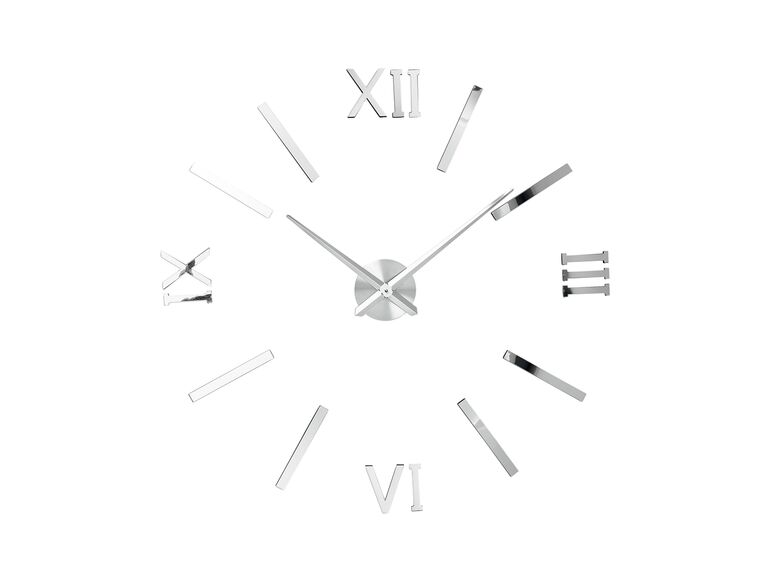 Reloj de pared auto-montable 1