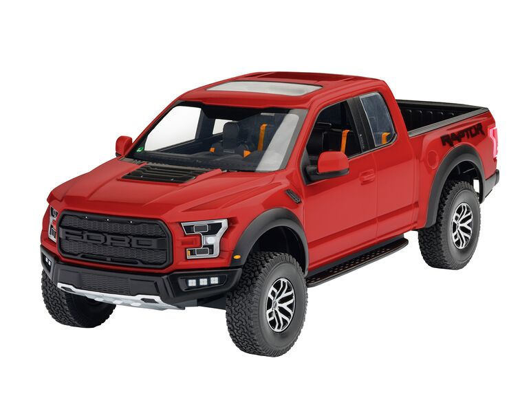 Maqueta Ford Raptor Revell Easy Click 1