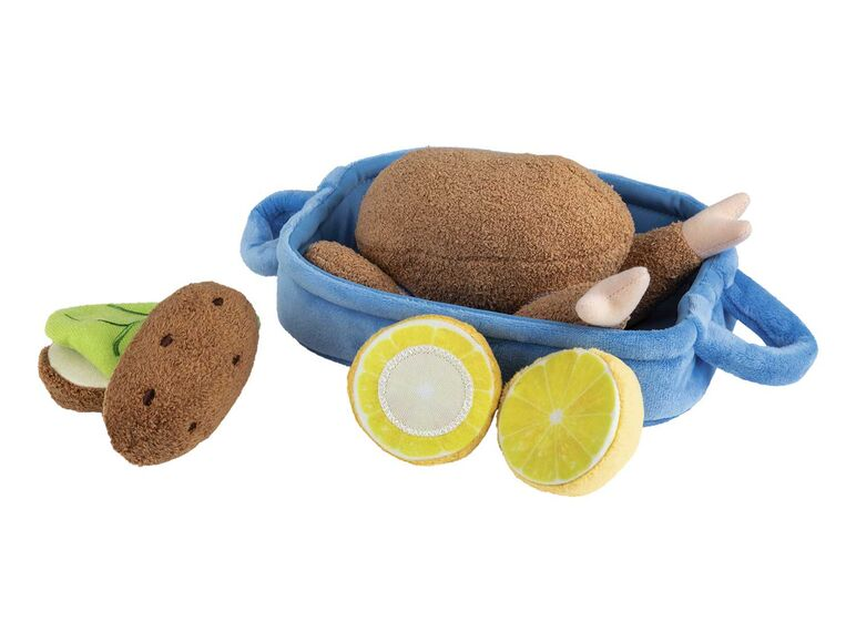 Set pollo con guarnición de peluche 1
