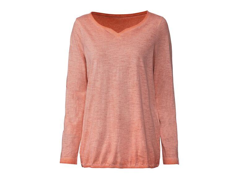 Camiseta manga larga mujer lidl