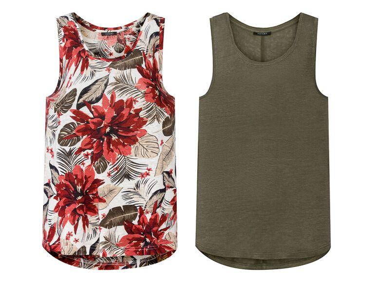 Camiseta de lino para mujer lidl