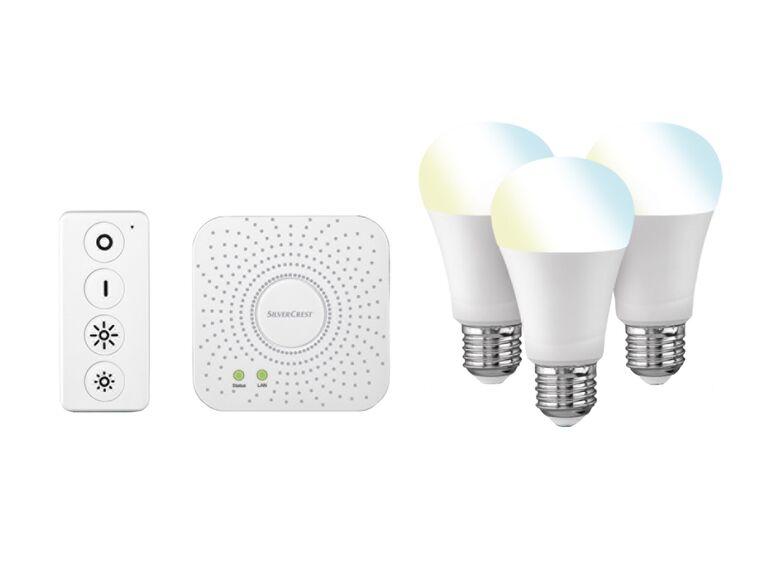 Set de iluminación para red Smart Home lidl